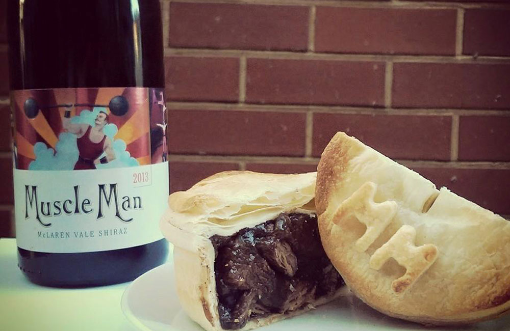 Brighton Jetty Bakery The Angove Muscle Man Shiraz Pie