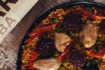 San Jose Black Chorizo and Chicken Paella