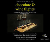Wine and Chocolate Flight